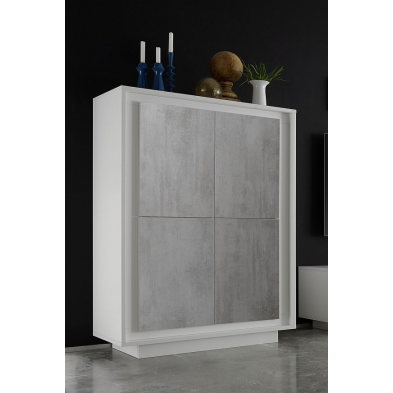 Vaisselier/Bar design CATHY 106 cm