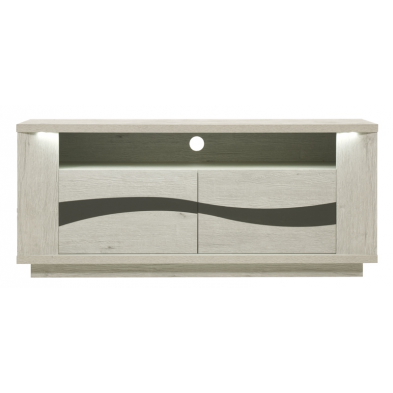 Meuble TV contemporain 135 cm DAVID