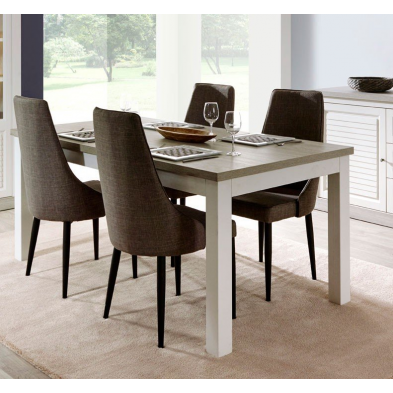 table de salle manger contemporaine meubles thiry. Black Bedroom Furniture Sets. Home Design Ideas