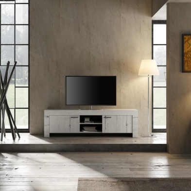 Meuble TV 180 cm contemporain TIMBA2