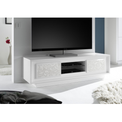 Meuble TV design ANABELLA STRIPED L156 cm