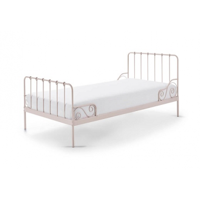 Lit enfant Alicia 90x200 cm rose