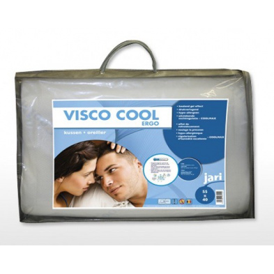 Oreiller ergonomique visco 55 x 40 cm COOL