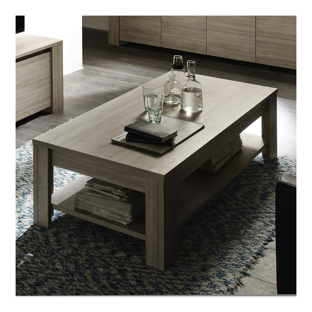 Table basse 140 cm contemporaine ELSA