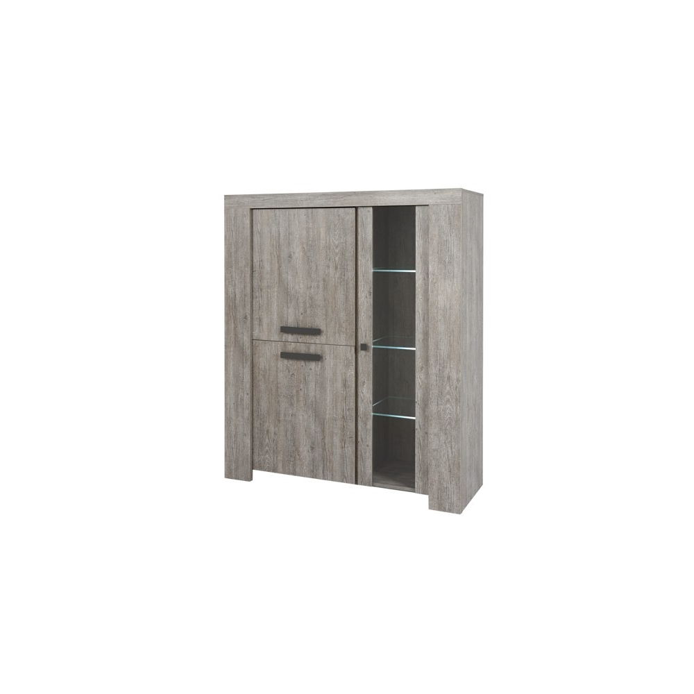 Vitrine-Argentier contemporain 140 cm RABBI
