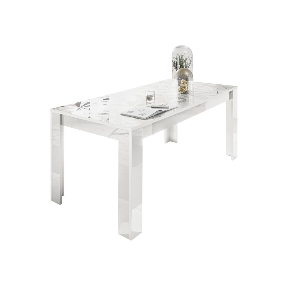 Table VENEZIA BLANC 180/90 cm
