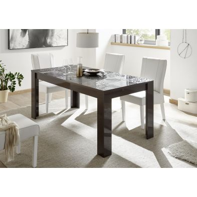 Table CARO GRIS 180/90 cm