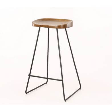Tabouret bar CASSIE naturel
