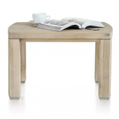 Table basse bout de canapé BUCKLEY 65 x 55 cm H&H