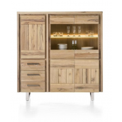 Highboard MORE I 150 cm chêne massif H&H