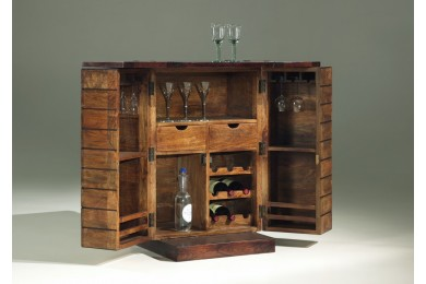 meuble bar rustique meubles thiry. Black Bedroom Furniture Sets. Home Design Ideas